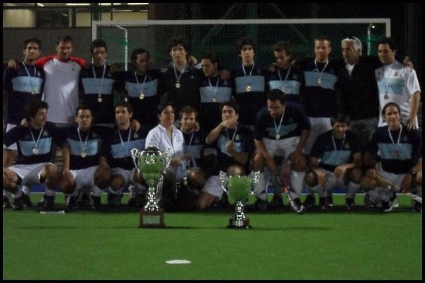 GEBA campeón de la Liga 2010 (Foto: Gentileza Sebastián Pallanza)