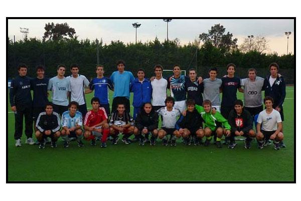 El seleccionado juvenil y un gran desafío: entrenarse con las mejores del mundo (Foto: CAH)