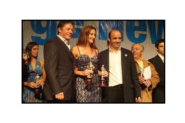 Luciana Aymar se quedó con el Oro en la edición 2010
