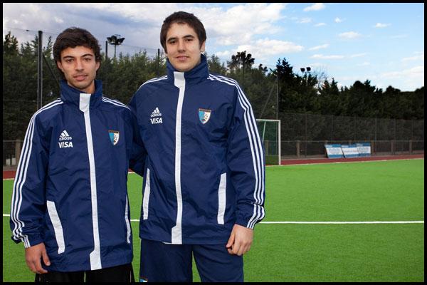 Tomás Santiago y Joaquín Cohelo (Foto: CAH/Matías Correa Arce)