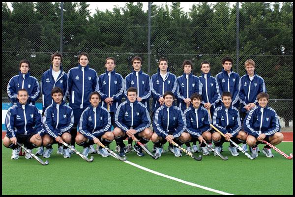 Selección masculina junior (Foto: CAH/Matías Correa Arce)