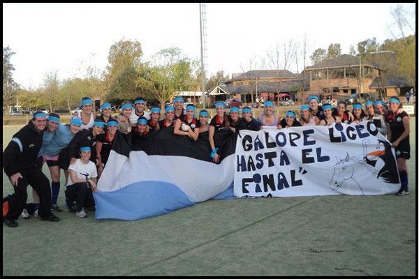 """La alegría de Liceo Naval """"B"""" (Foto: Gentileza María Piscicelli)"""