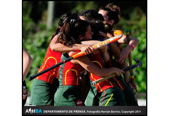 Lomas a un paso de quedarse con el segundo lugar (Foto: Prensa AAHBA/Hernán Barrios)