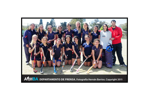 Las chicas del BACRC campeonas en la séptima (Foto: Prensa AAHBA/Hernán Barrios)