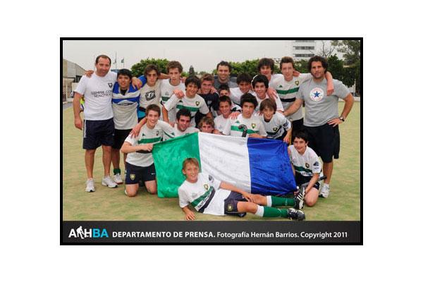 San Fernando campeón en la sexta A (Foto: Prensa AAHBA/Hernán Barrios)