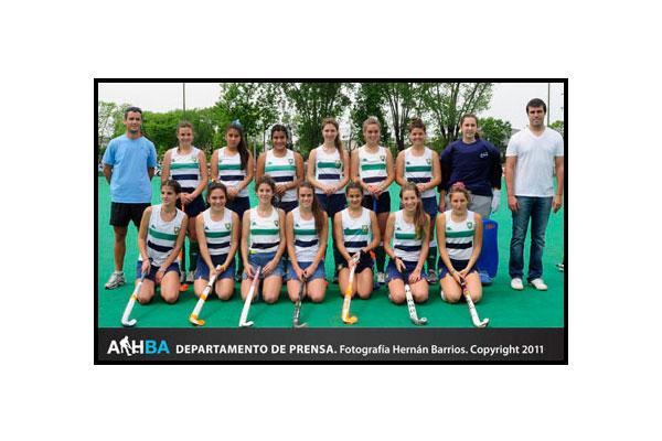 Sanfer, campeonas en la sexta A (Foto: Prensa AAHBA/Hernán Barrios)