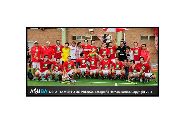 Banco Provincia campeón en la primera división (Foto: Prensa AAHBA/Hernán Barrios)