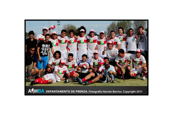 Banco Provincia gritó campeón en Intermedia (Foto: Prensa AAHBA/Hernán Barrios)