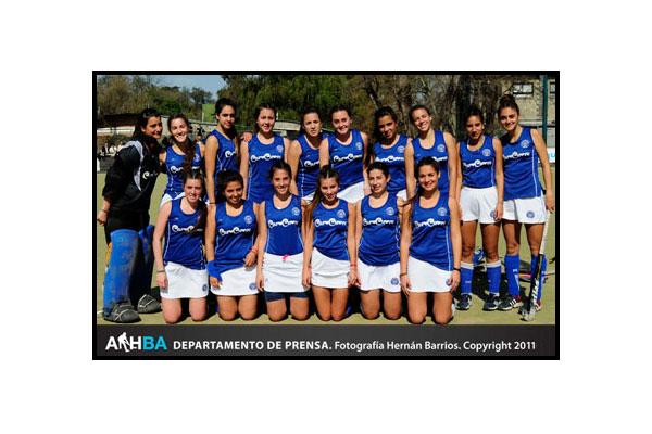 Quinta B: Título para las chicas de Mitre (Foto: Prensa AAHBA/Hernán Barrios)