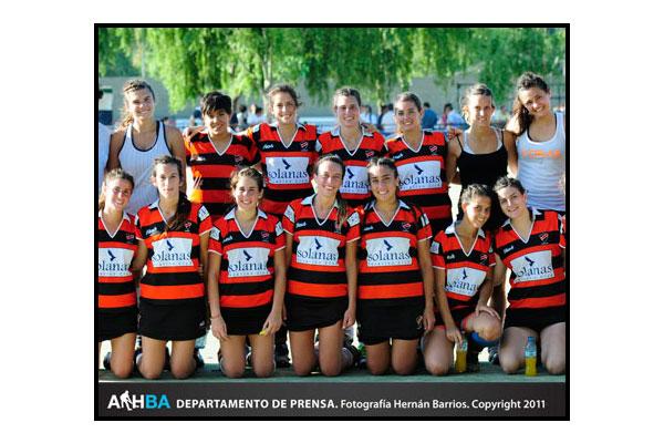"""Olivos, el campeón de la """"C"""" que en el 2012 militará en la B (Foto: Prensa AAHBA/Hernán Barrios)"""