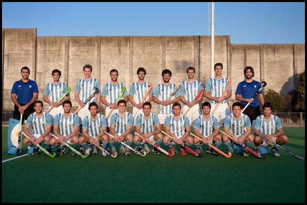 Foto oficial del equipo (Prensa CAH/Matías Correa Arce)