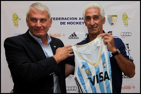 Daniel Marcellini y Marcelo Garraffo (Foto: Prensa CAH/Matías Correa Arce)