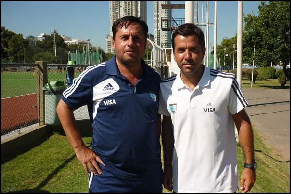 Franco Nicola y Santiago Capurro (Foto: Prensa CAH)