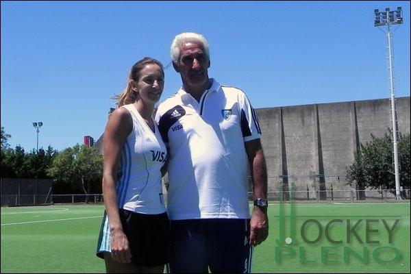 Luciana Aymar y Marcelo Garraffo